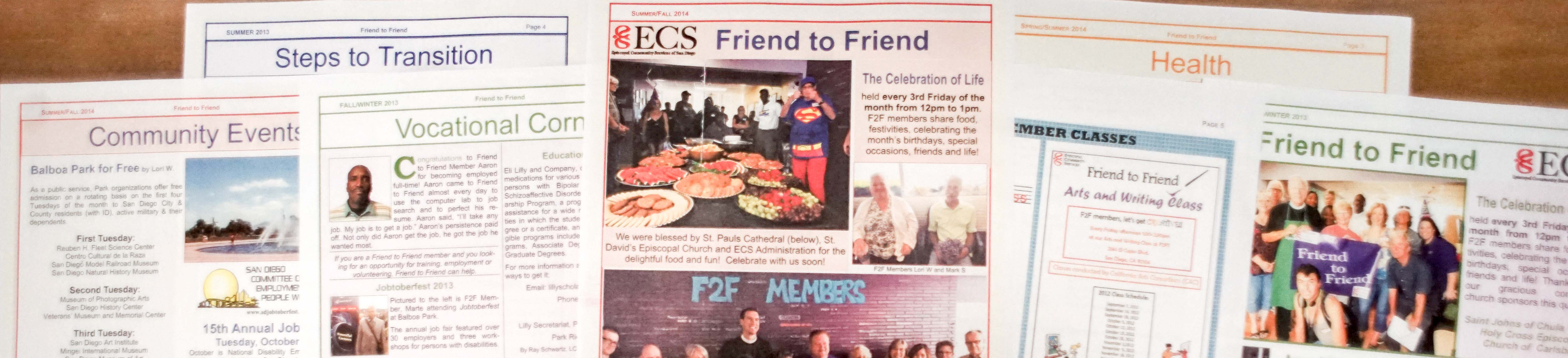 F2F newsletters banner smaller